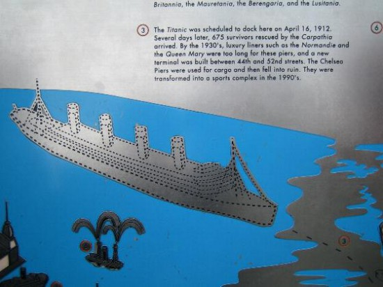Abb. 6 - Schautafel auf dem Empire State Building