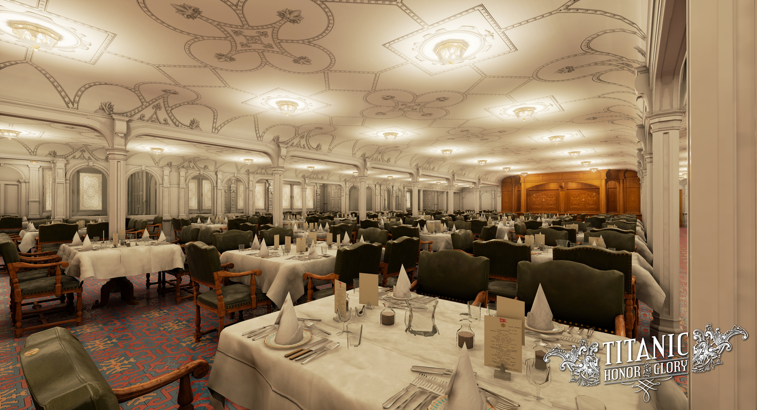 Rms Olympic Dining Room