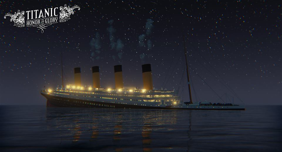 Titanic sinking into the snow... again by Danishinterloper656 on ...