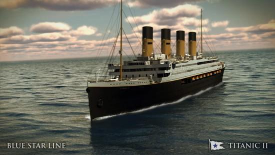 Titanic II Exterior A