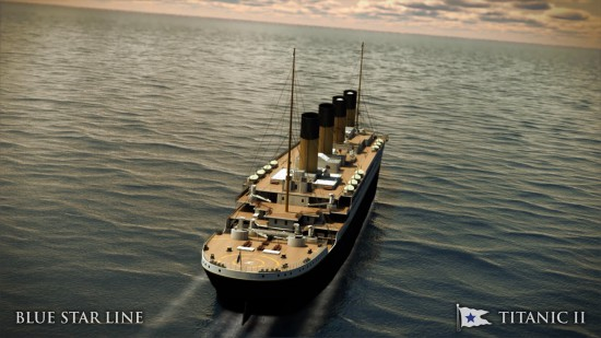 Titanic II Exterior B