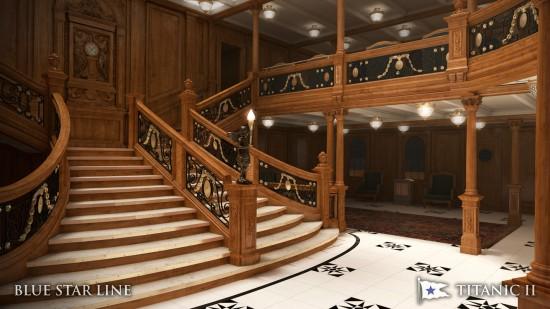 Titanic II Grand Staircase