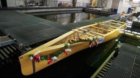 Titanic II HSVA Modell Bild 2