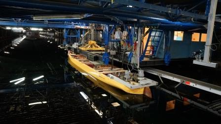 Titanic II HSVA Modell Bild 4