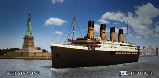 Titanic II New York Harbour