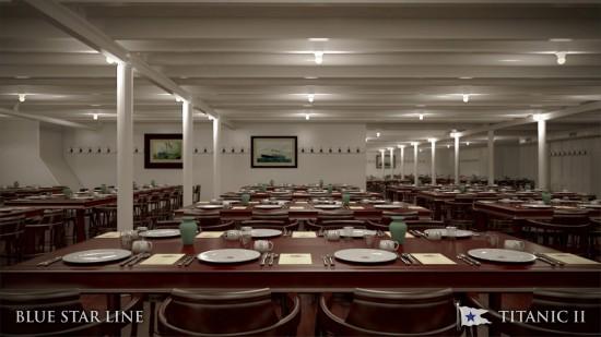 Titanic II Third Class Dining